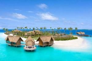 Waldorf Astoria Maldives Ithaafushi Hideaways im Süd-Malé-Atoll