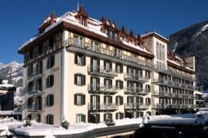 5-Sterne Hotel Mont Cervin Palace in Zermatt, Schweiz