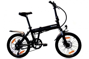 Lifestyle Equipment - Faltbare E-Bikes von Blaupunkt für Camper und Städtereisen