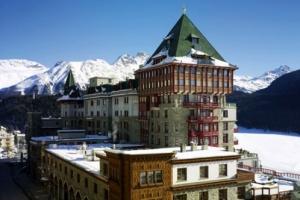 5-Sterne Luxus-Skihotel Badrutt's Palace in St.Moritz, Schweiz