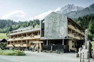 """Hotel """"Mama Thresl"""" in Leogang, im Salzburger Land, Österreich"""